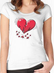 Extreme Heartquake Women's Fitted Scoop T-Shirt