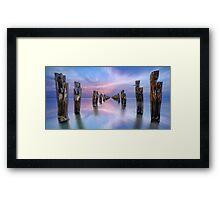 Walk On Water Framed Print