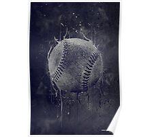 Dark Baseball Poster