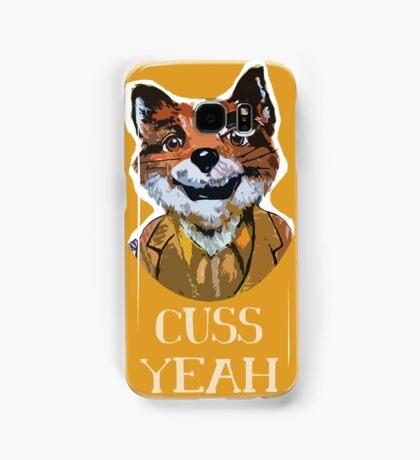 Cuss Yeah - MR FOX Samsung Galaxy Case/Skin