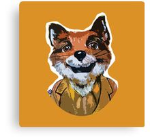 Cuss Yeah - MR FOX Canvas Print