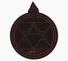 Flame Transmutation Circle - sticker by R-evolution GFX