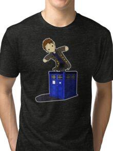 Jack in the Blue Box Tri-blend T-Shirt