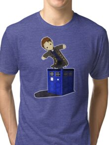 Jack in the Blue Box Tri-blend T-Shirt