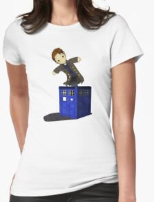 Jack in the Blue Box Womens Fitted T-Shirt