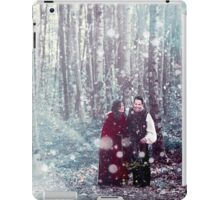 Outlaw Queen - Christmas In The Forest of Camelot iPad Case/Skin