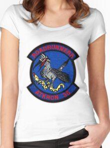 VA-36  Roadrunner Patch Women's Fitted Scoop T-Shirt