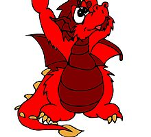 Red Waving Dragon by kwg2200