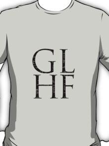 Starcraft GLHF - negative cross text model T-Shirt