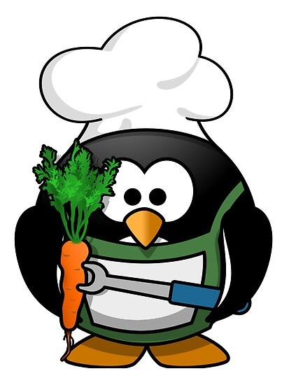 Chef Penguin by kwg2200
