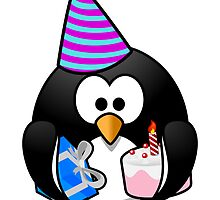 Party Penguin by kwg2200