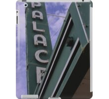 Palace Theater Sign iPad Case/Skin
