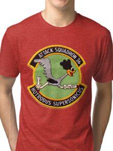 VA-36 Roadrunners Alternate Patch Tri-blend T-Shirt