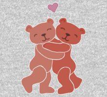 A Valentine's Day Teddy Bear Hug Kids Tee
