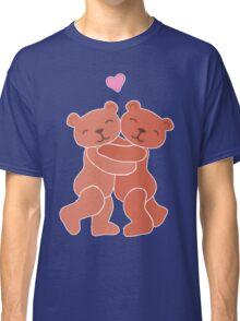 A Valentine's Day Teddy Bear Hug Classic T-Shirt