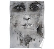 head on canvas Poster