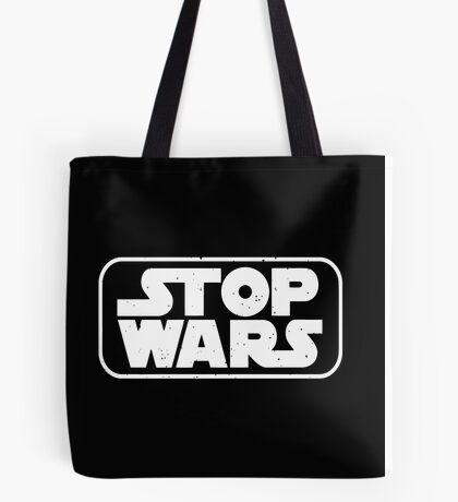 stop wars star wars  Tote Bag