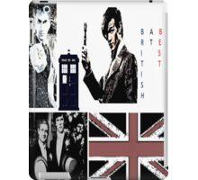 British At Best.  iPad Case/Skin