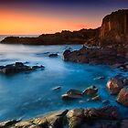 Boat Harbour Sunrise - Highside by Michael Howard