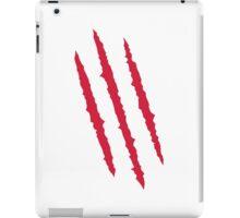 Scratch blood iPad Case/Skin