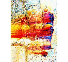 Unique Abstract Art Photographic Print