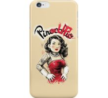 Pin-occhio-Up iPhone Case/Skin