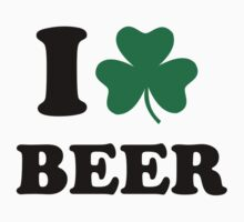 I love beer shamrock by Designzz