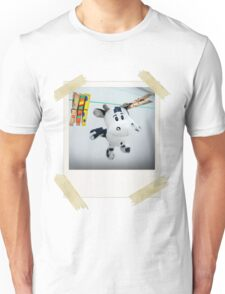 Cow on Wire Unisex T-Shirt