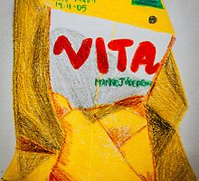 Vita Mango Drink, Crushed by Gareth Cheng