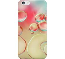 Oil Drops with Blush Pink iPhone Case/Skin