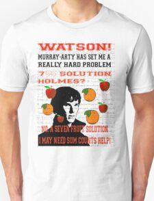 Slightly Risque Sherlock meets Sesame Street T-Shirt