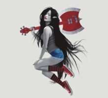 Marceline the Vampire Queen - Pinup Girl by ronin47design