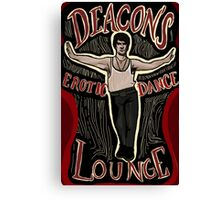 What We Do In The Shadows Deacon's Erotic Dance Lounge Canvas Print