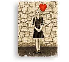 Vintage Love Canvas Print