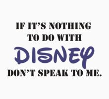 Nothing To Do With Disney by Rachel  Jones