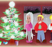 Punch-Out Christmas by SaradaBoru