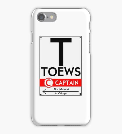 Toews Phone Case (White) iPhone Case/Skin