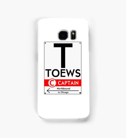 Toews Phone Case (White) Samsung Galaxy Case/Skin