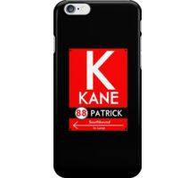 Kane Phone Case (Black) iPhone Case/Skin