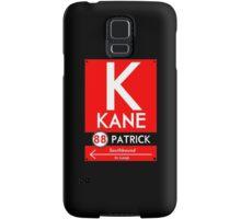 Kane Phone Case (Black) Samsung Galaxy Case/Skin