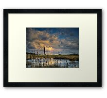 The Big Glow ~ Finley Refuge ~ Framed Print
