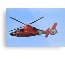 Hawaii Coast Guard Helicopter Metal Print