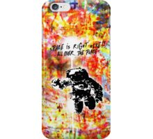 Space is right here!! All over the place COLORS iPhone Case/Skin