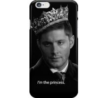 Dean Winchester Is The Princess iPhone Case/Skin