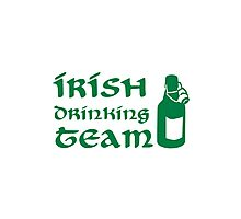 Irish drinking team beer Photographic Print
