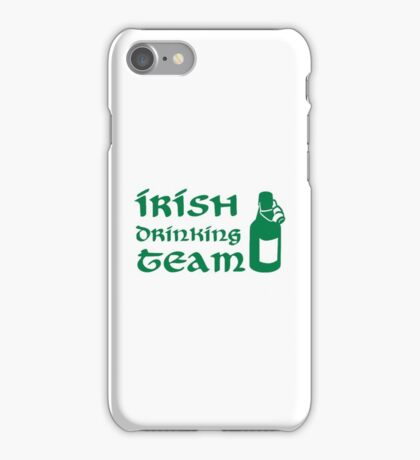 Irish drinking team beer iPhone Case/Skin