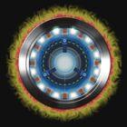 Iron Man's Arc reactor by G3no