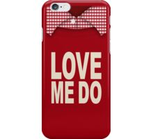 Red Love iPhone Case/Skin