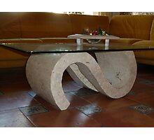 Saloon Table. Photographic Print