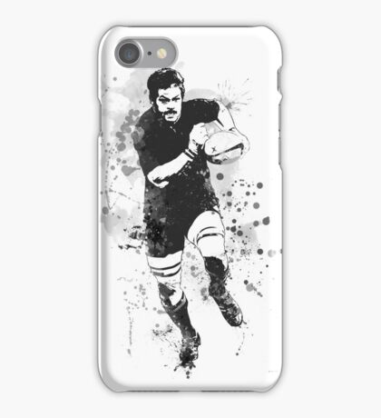 Rugby Player iPhone Case/Skin